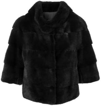 Cara Mila Midi fur jacket