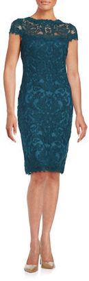 Tadashi Shoji Soutache-Embroidered Sheath Dress $419 thestylecure.com