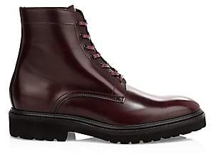 Paul Smith Men's Farley Leather Lace-Up Boots