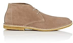 Barneys New York MEN'S SUEDE CHUKKA BOOTS