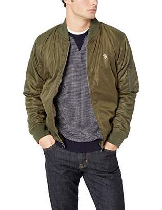 U.S. Polo Assn. Men's MA-1 Bomber Jacket