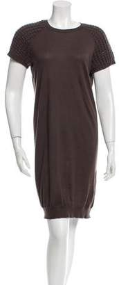 Brunello Cucinelli Cashmere Sequin-Accented Dress w/ Tags