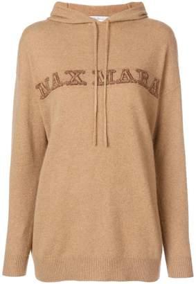 Max Mara hooded jumper