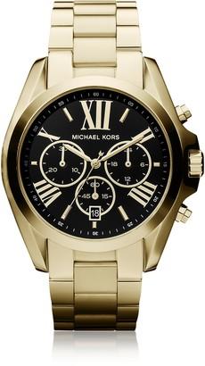 Michael Kors Bradshaw Goldtone Stainless Steel Women's Chronograph Watch