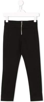 Dondup Kids mid-zip trousers