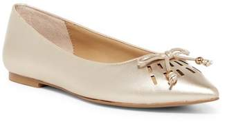 Adrienne Vittadini Fitzi Pointed Toe Flat $99 thestylecure.com