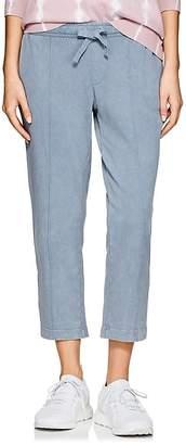 ATM Anthony Thomas Melillo Women's Washed Cotton Crop Sweatpants