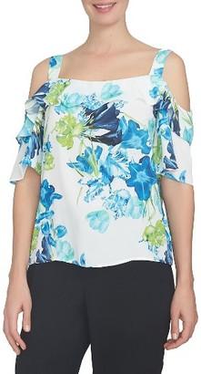 Women's Cece Cold Shoulder Blouse $79 thestylecure.com