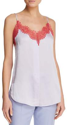 Sandro Perrine Lace-Trimmed Cami - 100% Exclusive