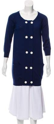 3.1 Phillip Lim Merino Wool Button-Up Cardigan