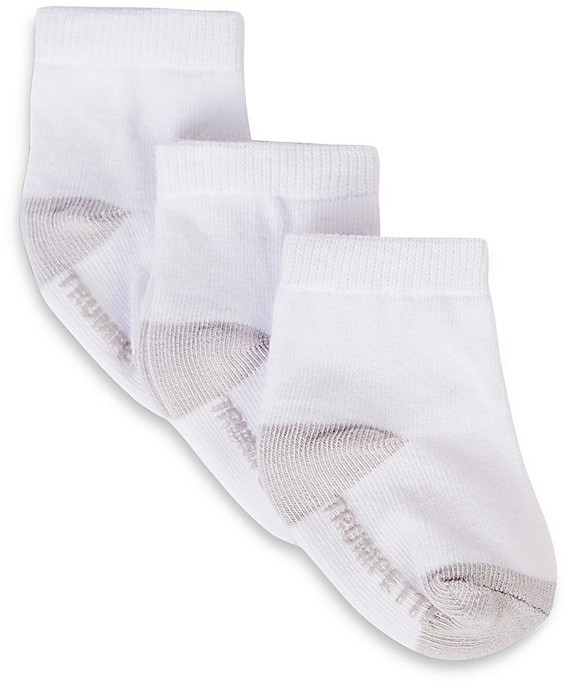 Trumpette Infant Unisex Basic Socks, 3 Pack - Sizes 0-12 Months
