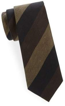 Tom Ford Wide Stripe Silk Tie