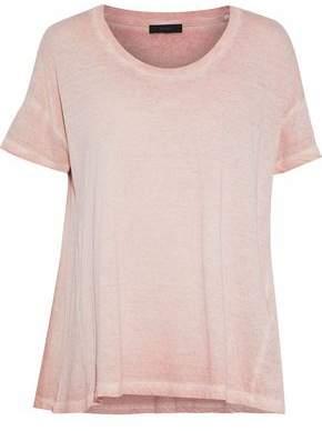 Belstaff Faded Slub Cotton-Jersey T-Shirt