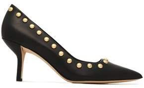 Diane von Furstenberg Studded Leather Pumps