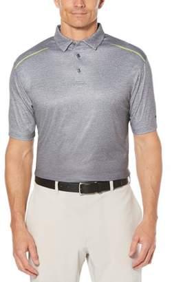 Hogan Ben Big Men's Performance Short Sleeve Ombre Printed Golf Polo
