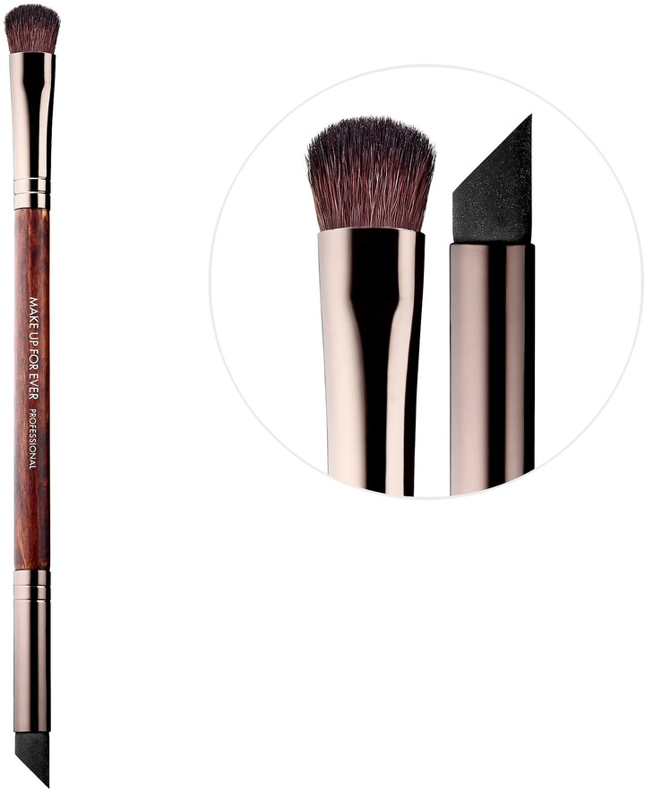 Make Up For Ever MAKE UP FOR EVER - 178 Double-Ended Concealer Brush