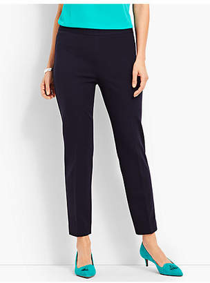 Talbots Italian Luxe Knit Slim Ankle Pant