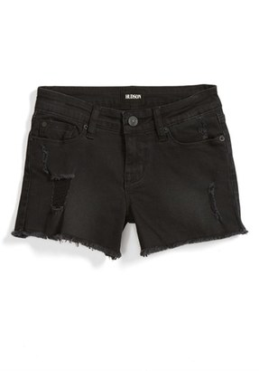 Girl's Hudson Kids Frayed Shorts $39 thestylecure.com