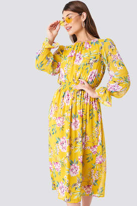 Trendyol Summer Flowered Midi Dress