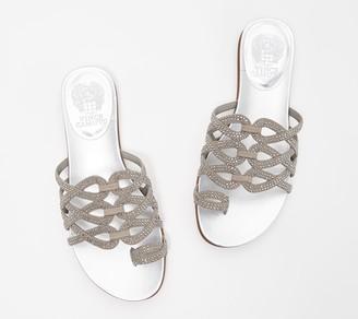 Vince Camuto Embellished Toe-Loop Sandals - Emmista