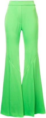 Ellery wide flared trousers