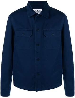 Maison Margiela denim button down shirt