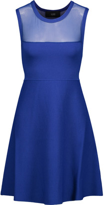 Line Mesh-yoke cady mini dress $295 thestylecure.com