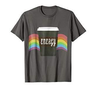 Coffee energy graphic T-shirt