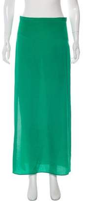 Alexis Slit-Accented Maxi Skirt