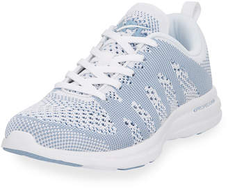 APL Athletic Propulsion Labs Apl: Athletic Propulsion Labs Knit Mesh Lace-Up Sneakers