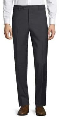 Zanella Devon Box Check Wool Trousers