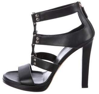Gucci Leather Multi-Strap Sandals