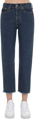 Levi's Wedgie Highrise Straight Leg Denim Jeans