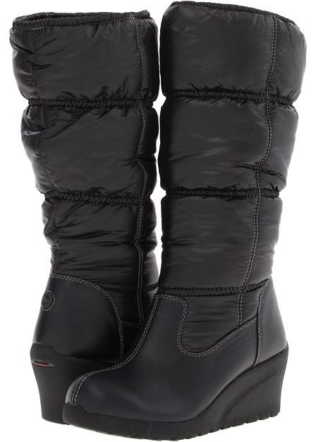 Mountrek Plaza Puff (Black) - Footwear