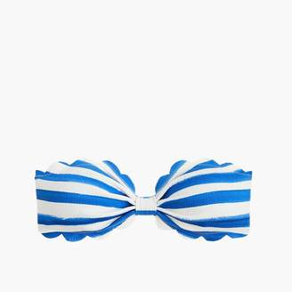 J.Crew MarysiaTM Antibes bikini top in watercolor stripe