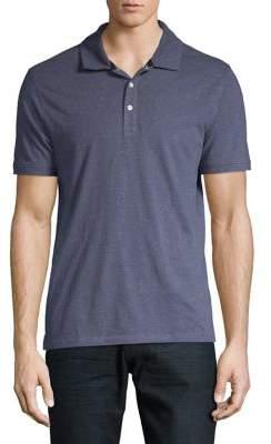 75604cd1e0cc ... Black   Brown Black Brown Denim Short-Sleeve Polo Shirt