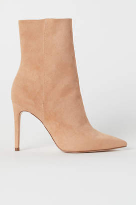 H&M Ankle Boots - Orange