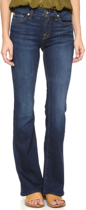 7 For All Mankind Iconic Boot Cut Jeans $198 thestylecure.com