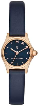 Marc Jacobs Henry Leather Strap Watch, 26mm