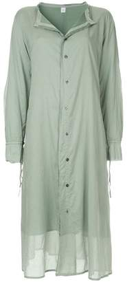 Y's button up shirt dress