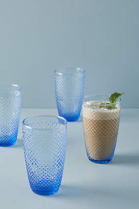 Anthropologie Gather by Hobnail Tumblers, Set of 4