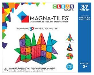 Magna-Tiles® Clear Colors 37 Piece Set $59.99 thestylecure.com