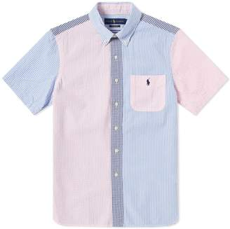 Polo Ralph Lauren Short Sleeve Seersucker Button Down Shirt