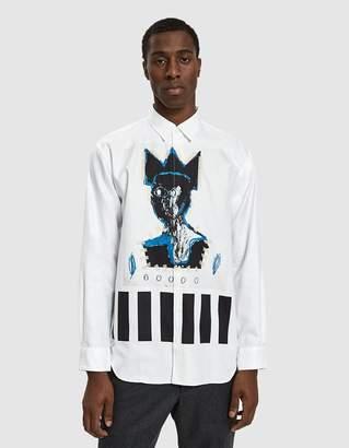 Comme des Garcons Basquiat Printed Shirt in Print E
