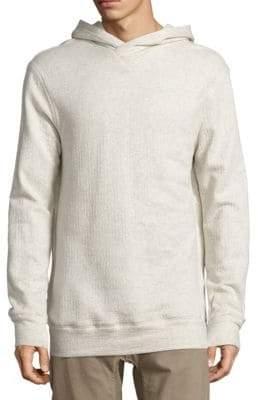Helmut Lang Textured Pullover Hoodie