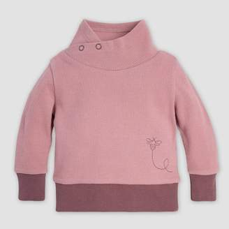 Burt's Bees Baby® Baby Girls' Organic Cotton Thermal Tunic Pullovers - Pink