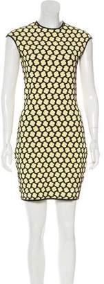 Alexander McQueen Mini Bodycon Dress