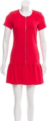 The Kooples Short Sleeve Mini Dress
