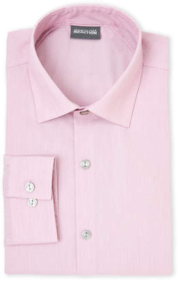 Kenneth Cole Reaction Pink Stretch Slim Fit Dress Shirt