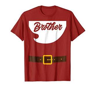 X-mas Brother Santa Claus Costume Shirt for Brother